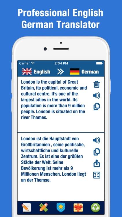 English German Translator - Dictionary Translation