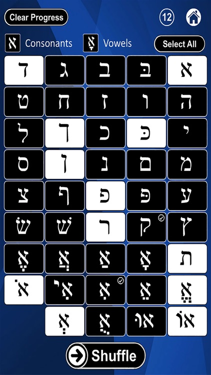 Hebrew Alphabet Flash Cards screenshot-3