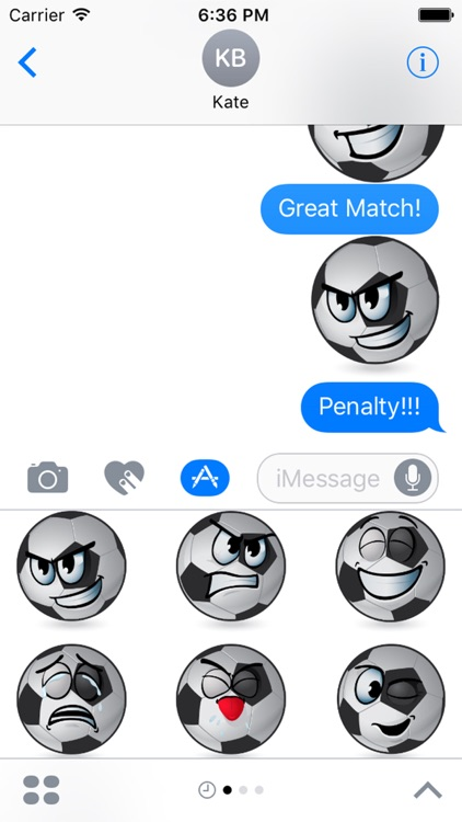 BallMoji - Soccer Stickers Football screenshot-4