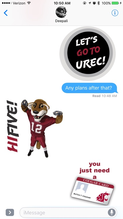 Coug Stickers