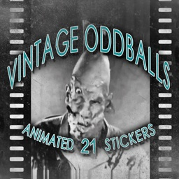 Vintage Oddballs - 21 Animated Stickers