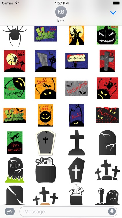 Halloween Stickers Pack! screenshot-4