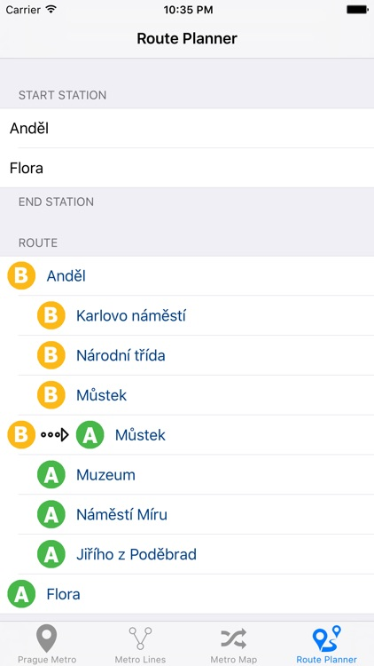 Prague Metro screenshot-1