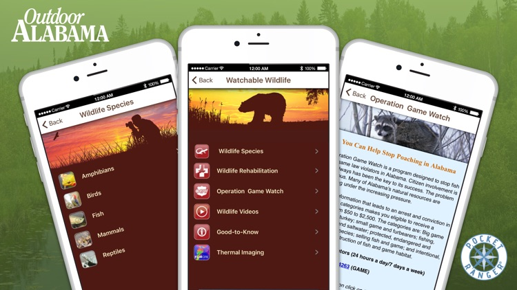 Outdoor AL Fish & Wildlife Guide - Pocket Ranger®