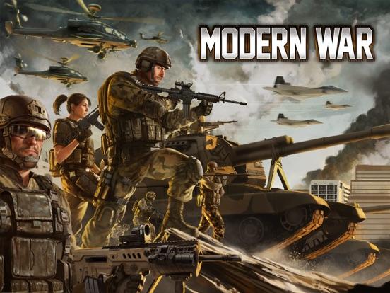 Modern War iPad