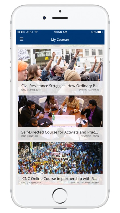 ICNC Online Courses by International Center on Nonviolent