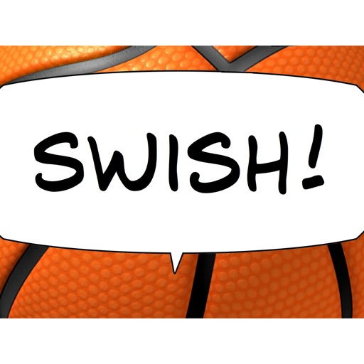 Swish! Sports Sounds Comic Bubbles