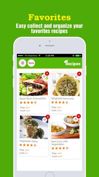 Yummy Vegetarian~Best of healthy vegetarian recipe screenshot-3