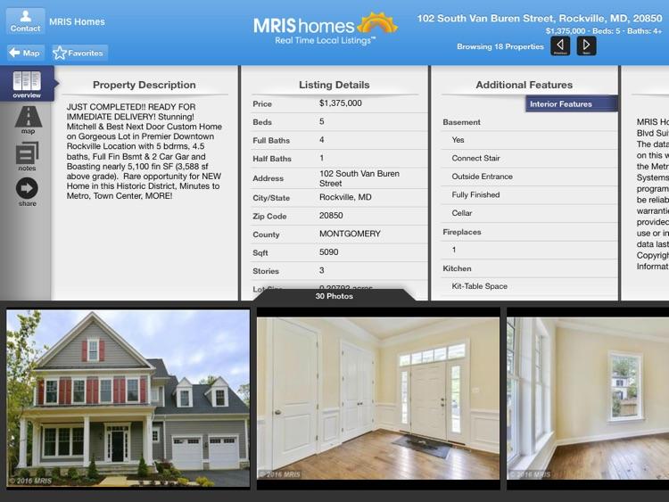 MRIS Homes for iPad screenshot-3