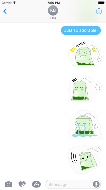 Matcha Sticker Pack screenshot-2