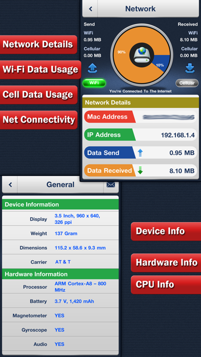 System Status Pro - Battery & Network Managerのおすすめ画像5