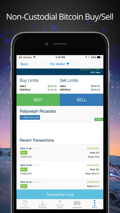 Airbitz - Bitcoin Wallet screenshot-1