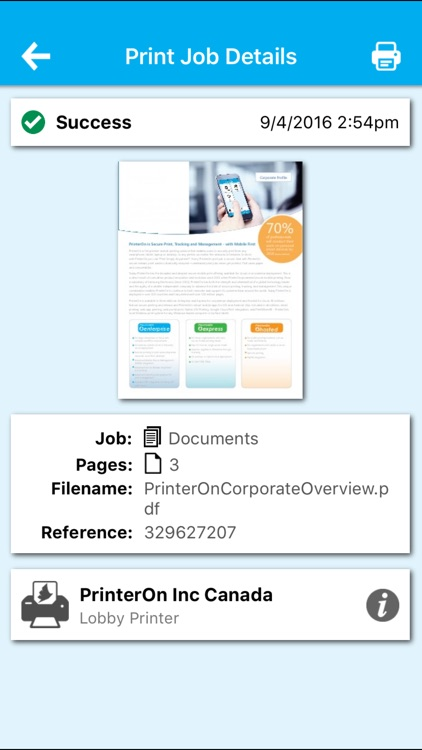 PrinterOn for AirWatch screenshot-4