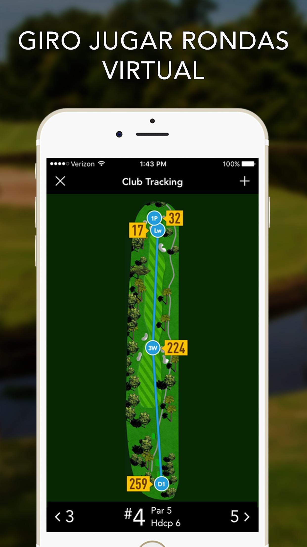 GolfLogix: Golf GPS Distances Screenshot