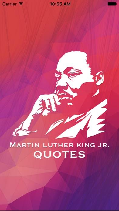 Martin Luther King Jr. Quotes, Saying & biography Screenshot