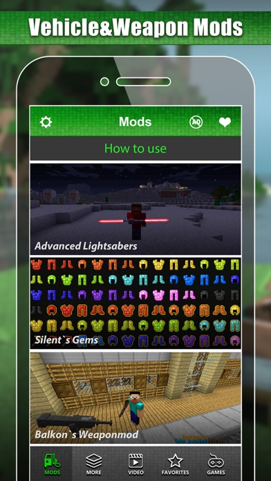 Download MC Vehicle & Weapon Mod - Best Game Modifier for Minecraft PC Edition for Pc