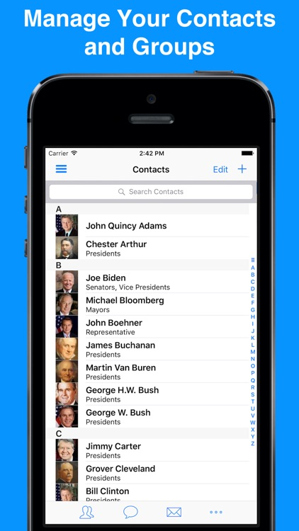 ABC Groups - Group Contacts screenshot-1