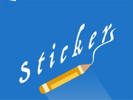 Pencil stickers