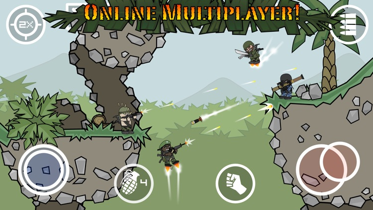 Doodle Army 2 : Mini Militia screenshot-0