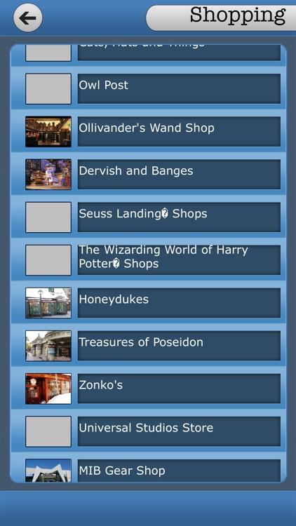Best App For Universal Orlando Resort Guide screenshot-3