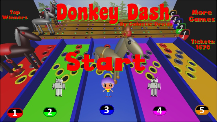 Donkey Dash Derby