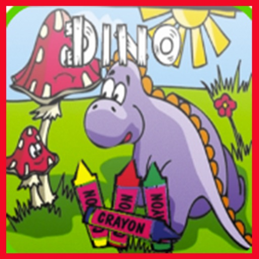 Coloring Book Dinosaurs New
