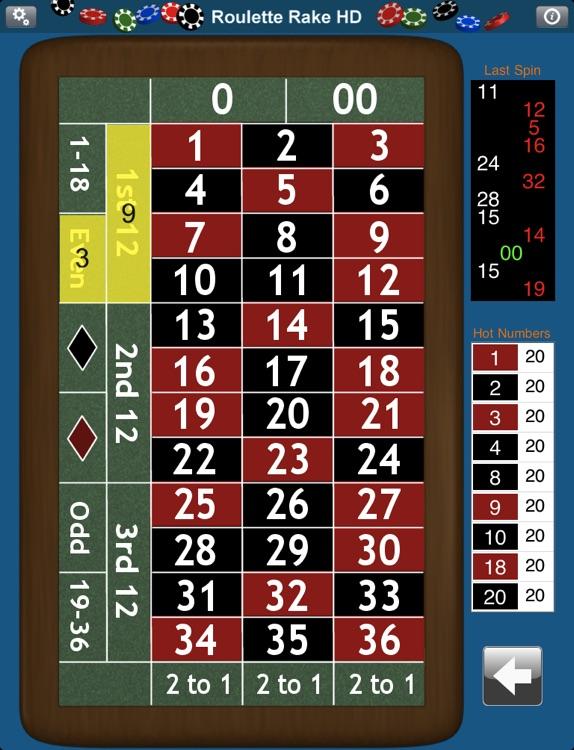 Roulette Rake HD screenshot-3
