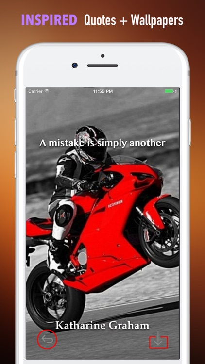 Ducati Wallpapers HD- Quotes and Art Pictures screenshot-4