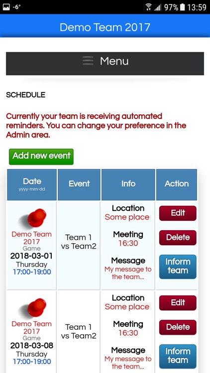MyTeamBud - Lite screenshot-4