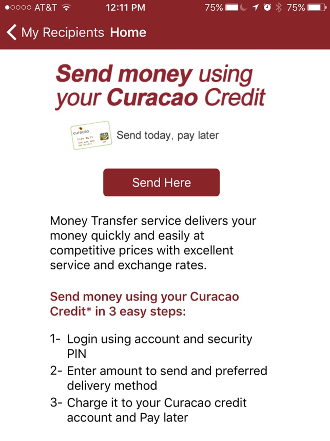 Curacao Money Transfer On The