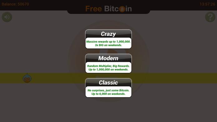 Bitcoin Free Screenshot