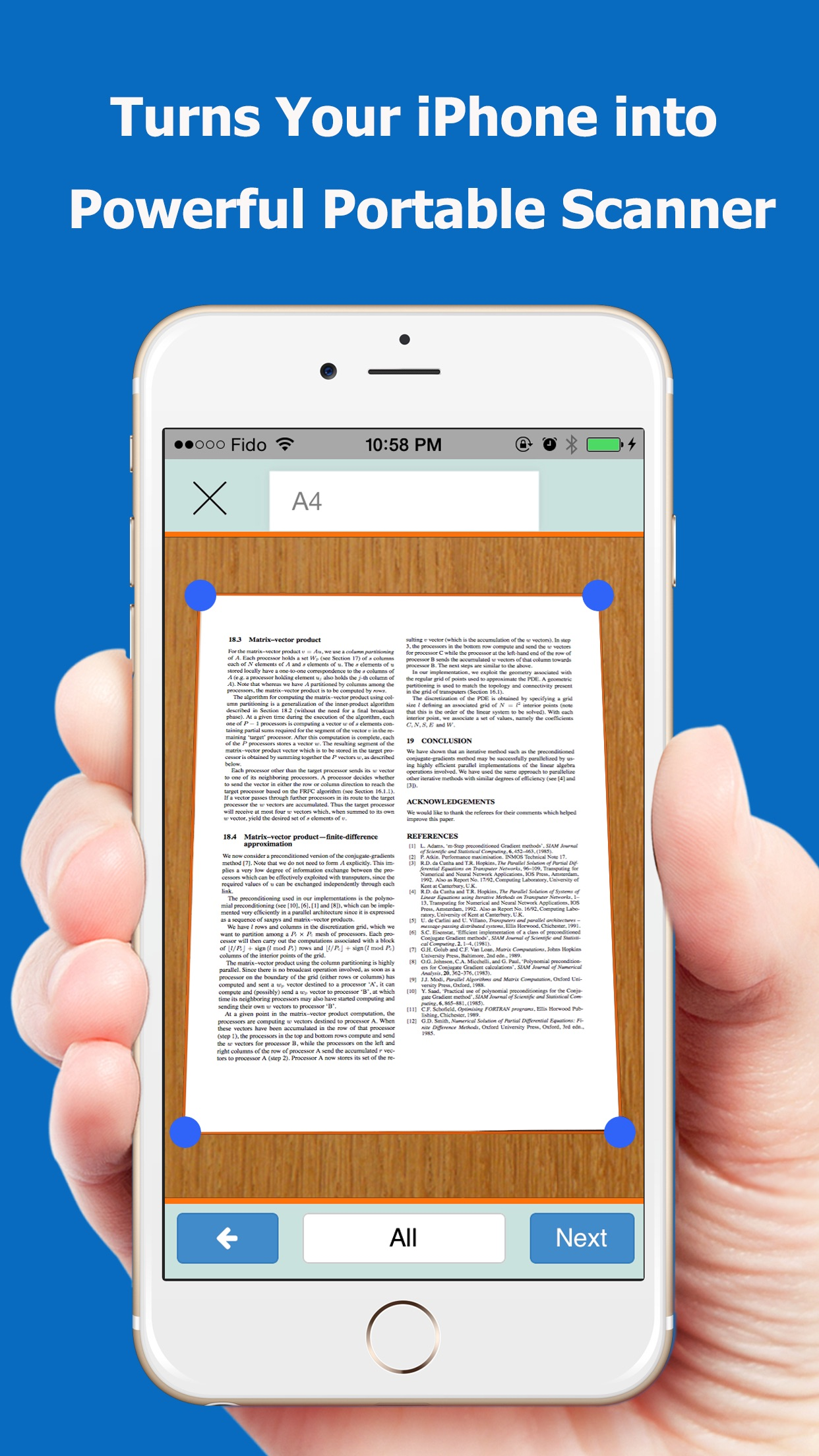 Screenshot do app TopScanner : PDF Scanner App