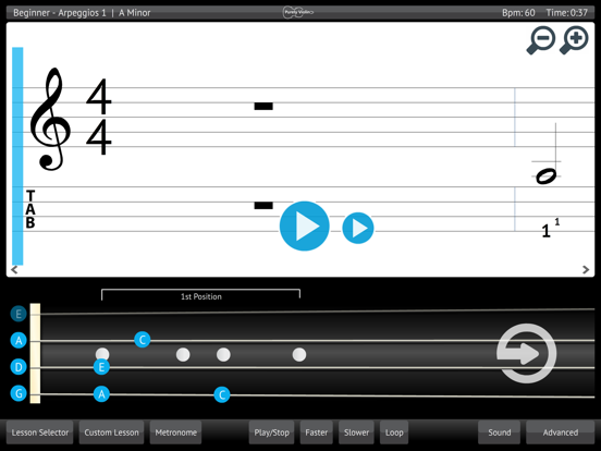 Learn & Practice Violin Music Lessons Exercises screenshot one