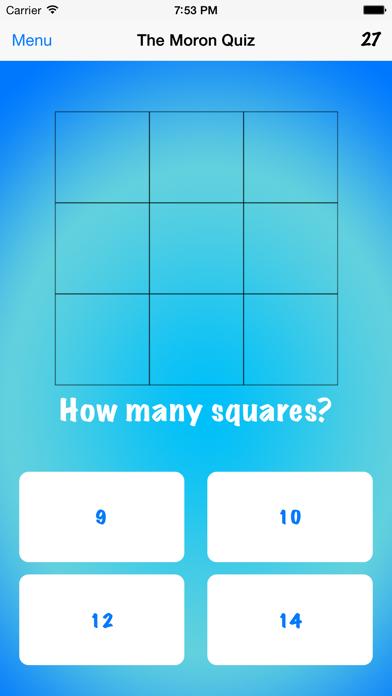 The Moron Quiz for windows pc