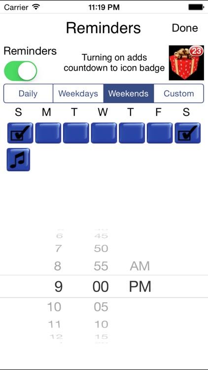 Days to go Christmas Countdown screenshot-3