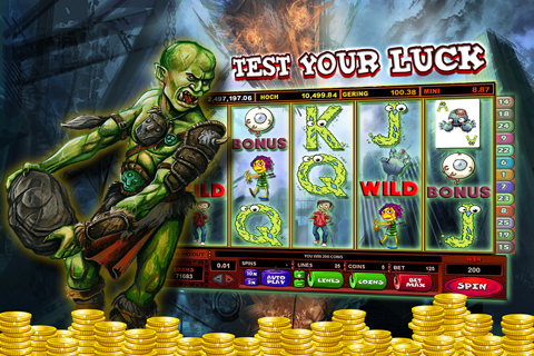 Zombies Slot Frenzy Machines: Undead Scary Casino screenshot 2