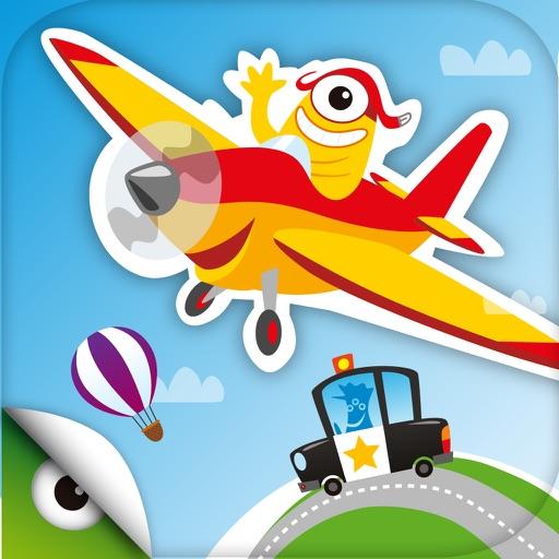 Planet Go - Игры для детей и малышей: автомобилей