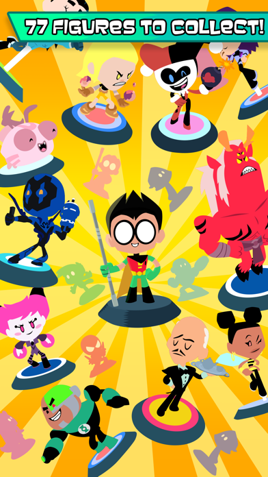 Teeny Titans phone App screenshot 1