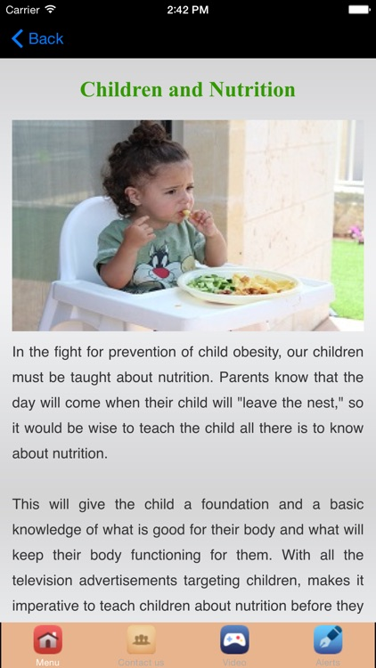 Healthy Food & Nutrition For Body screenshot-4