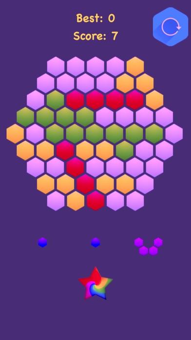 Hexagonal Merge - Premium. screenshot 1