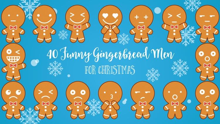 Gingerbread Man Emojis