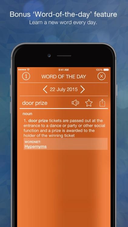 Advanced English Dictionary and Thesaurus screenshot-3