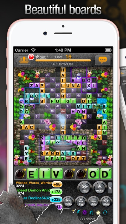 War of Words 2 - Crossword Strategy Game