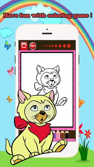 Cat Coloring Book Play Educational Toddler Games on the App Store