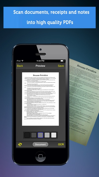 Doc Scanner + OCR: PDF scanner to scan document, receipt, photo screenshot-1