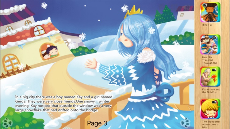 The Snow Queen - Bedtime Fairy Tale iBigToy