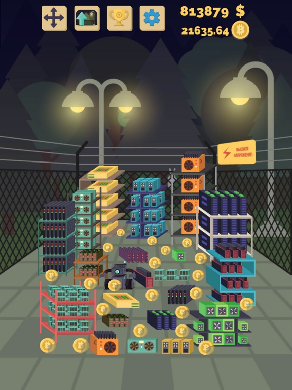 Bitcoin mining: life simulator-ipad-0