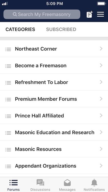 My Freemasonry