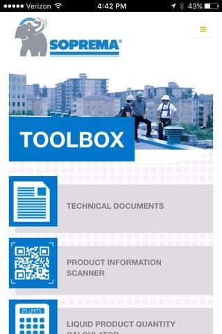 SOPREMA USA Toolbox - náhled