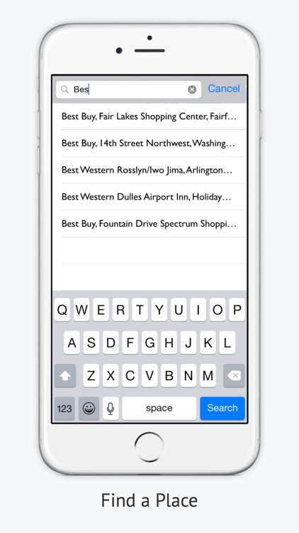 iMapMe -  Keep Track of All Your Favorites Places screenshot-3